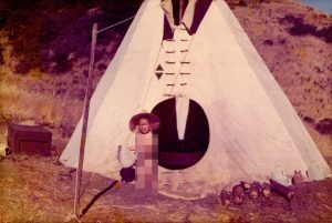 The Tiny Travel Chick at Her First Tiny House, a Teepee
