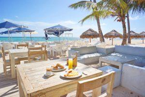 Tiny Travel Chick Punta Cana Breakfast on the Beach
