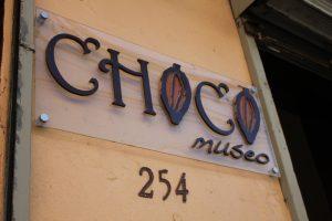 Tiny Travel Chick Punta Cana Choco Museo Sign