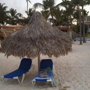 Tiny Travel Chick Punta Cana My Spot on the Beach