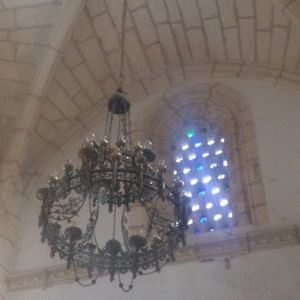 Tiny Travel Chick Punta Cana Santo Domingo Cathedral Chandelier