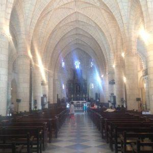 Tiny Travel Chick Punta Cana Santo Domingo Cathedral Aisle