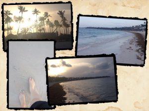 Tiny Travel Chick Punta Cana Sunset Walks on the Beach