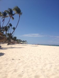 Tiny Travel Chick Punta Cana View Beach to the Left