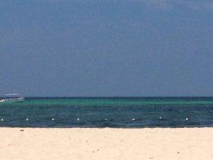 tiny travel chick punta cana white sandy beachs