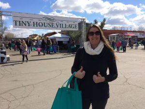 Tiny Travel Chick I Went to the Fresno Home Show