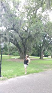 tiny travel chick new orleans trees