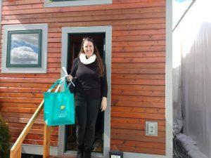 tiny travel chick tiny smart house alicia in door
