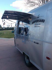 tiny travel chick ice cream truck