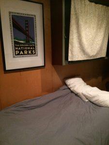 tiny travel chick san rafael tiny house futon bed