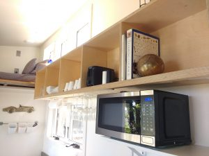 tiny travel chick best travel experience tiny house microwave