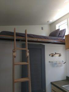 tiny travel experience best travel experience tiny house ladder loft