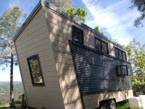 tiny travel chick best travel experience tiny house back view