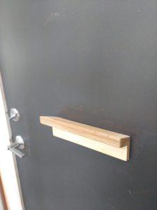 tiny travel chick best travel experience tiny house ladder shelf storage