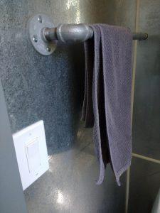 tiny travel chick best travel experience tiny house towel bar