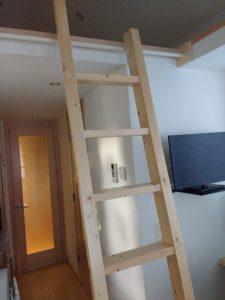 tiny travel chick travel experience tiny house sliding ladder