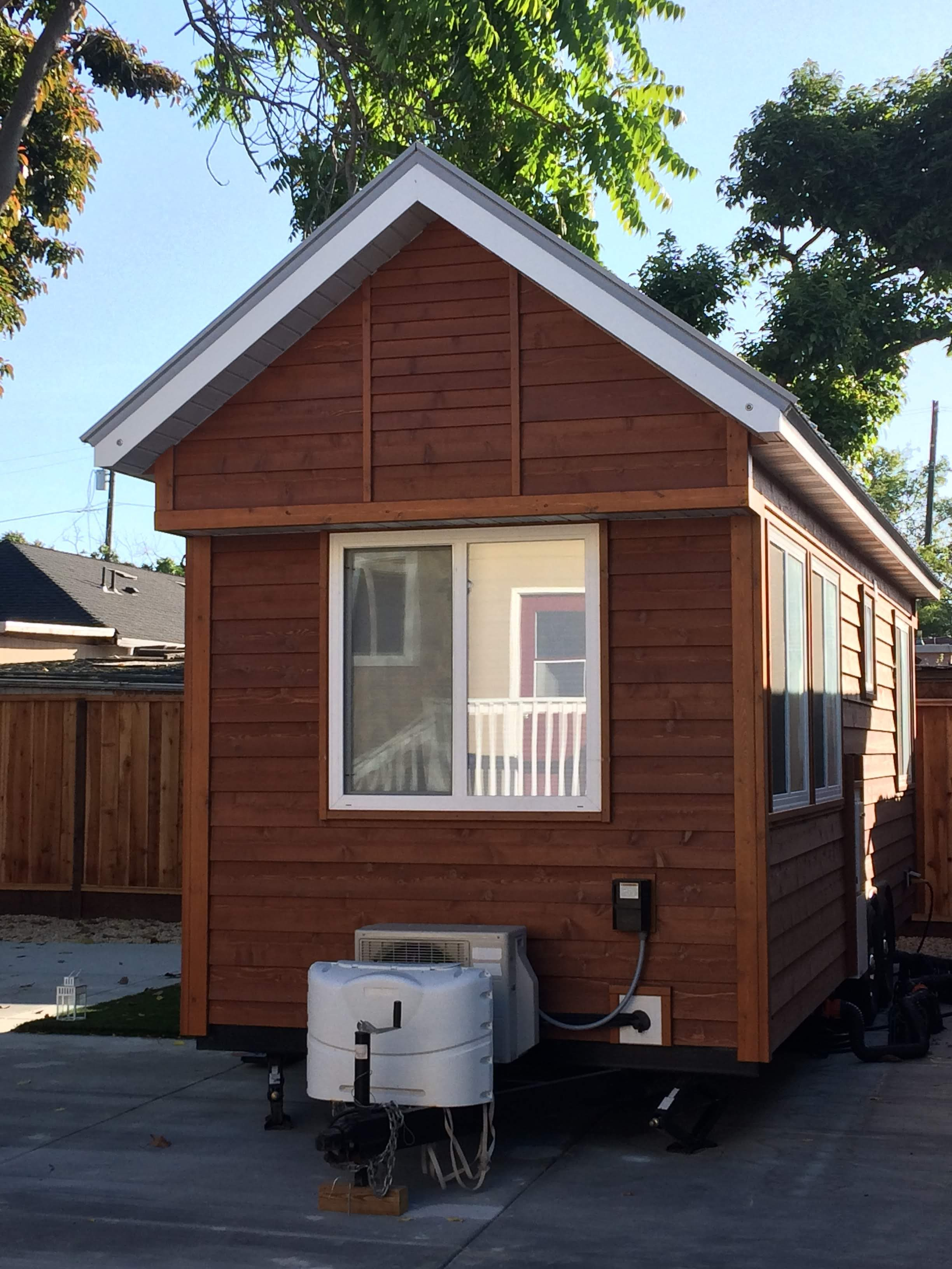 tiny travel chick travel experience tiny house front view