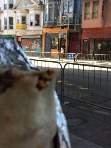 tiny travel chick travel experience sunrise restaurant vegan burrito