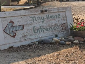 tiny travel experience amazing travel tiny house entrance sign