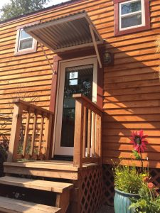 tiny travel chick amazing travel tiny house front porch