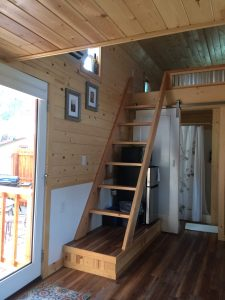 tiny travel chick amazing travel tiny house second loft