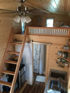 tiny travel chick amazing travel tiny house second loft view