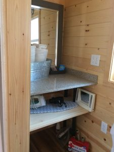 tiny travel chick amazing travel tiny house bathroom storage