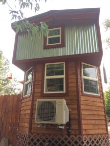 tiny travel chick amazing travel tiny house front view