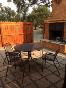 tiny travel chick amazing travel tiny house patio table