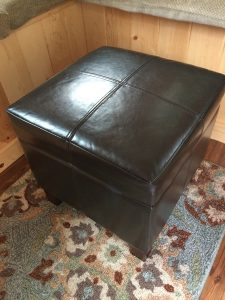 tiny travel chick amazing travel tiny house ottoman closed