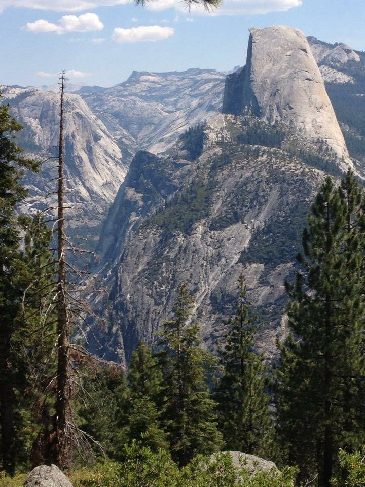 tiny travel chick places to hike in california half dome