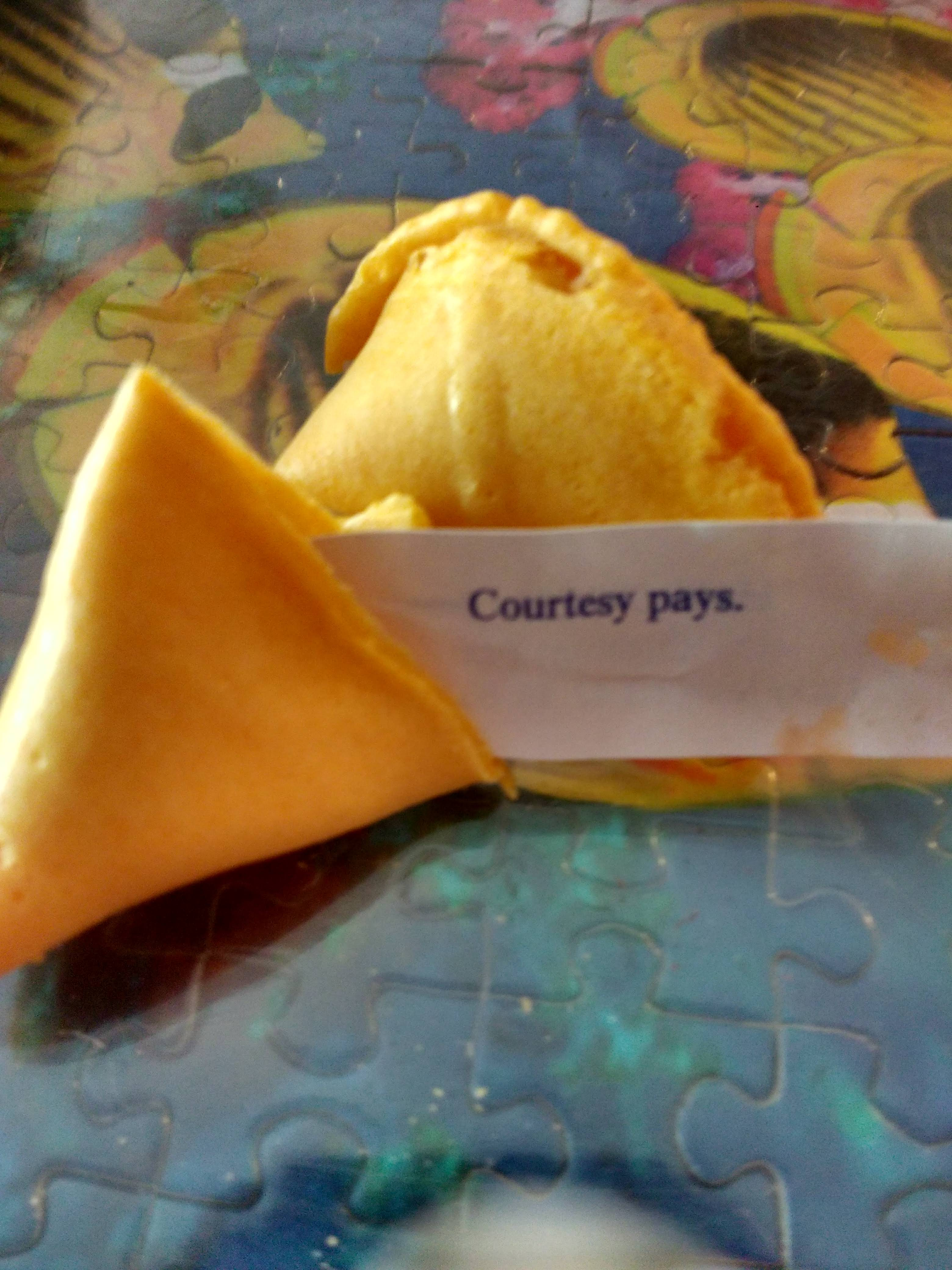 tiny travel chick fun travel pineapple restaurant fortune cookie
