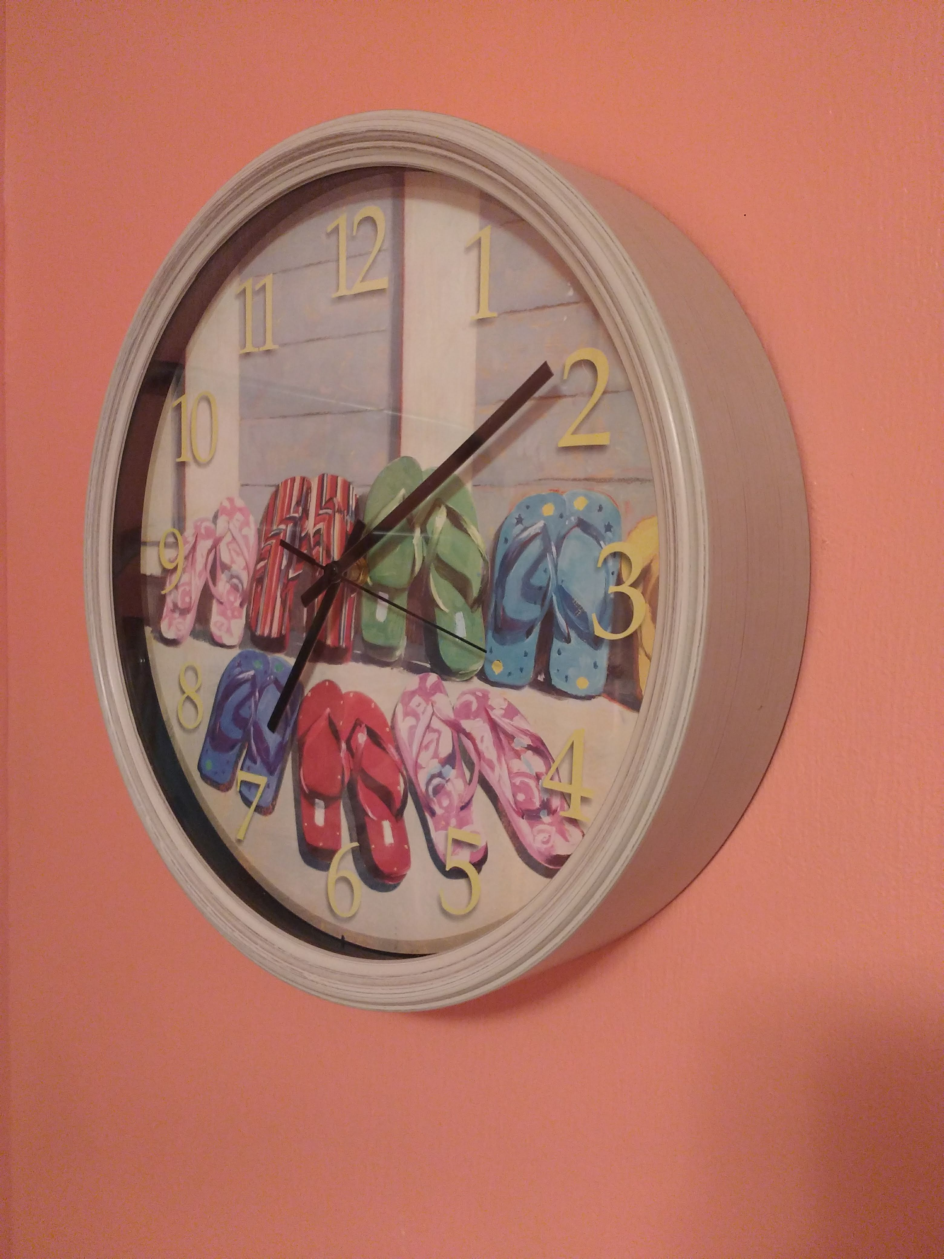 tiny travel chick incredible travel colorful corner airbnb clock