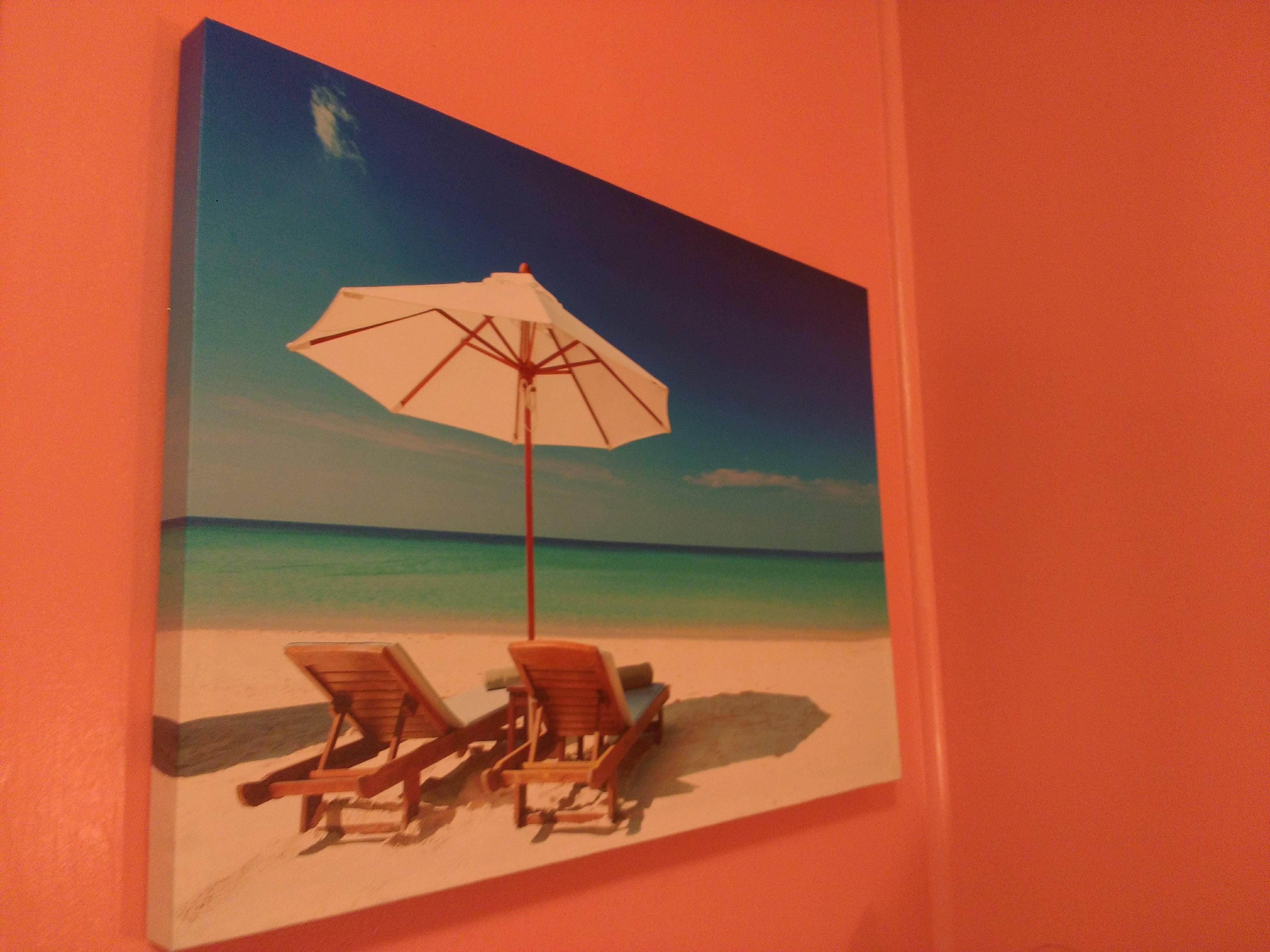 tiny travel chick incredible travel colorful corner airbnb artwork