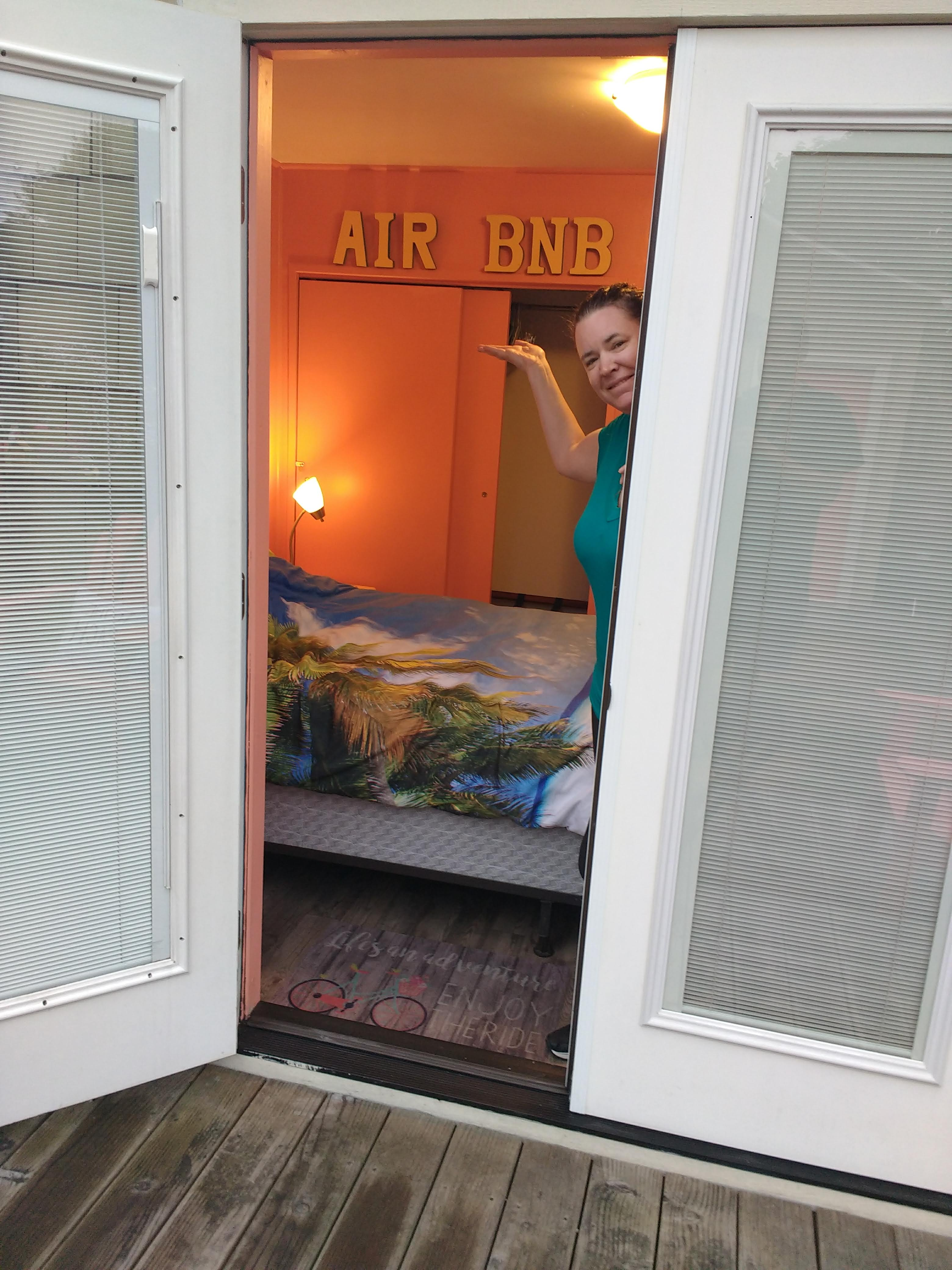 tiny travel chick incredible travel colorful travel airbnb welcome