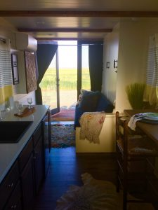 tiny travel chick shipping container home builders cargohome living room