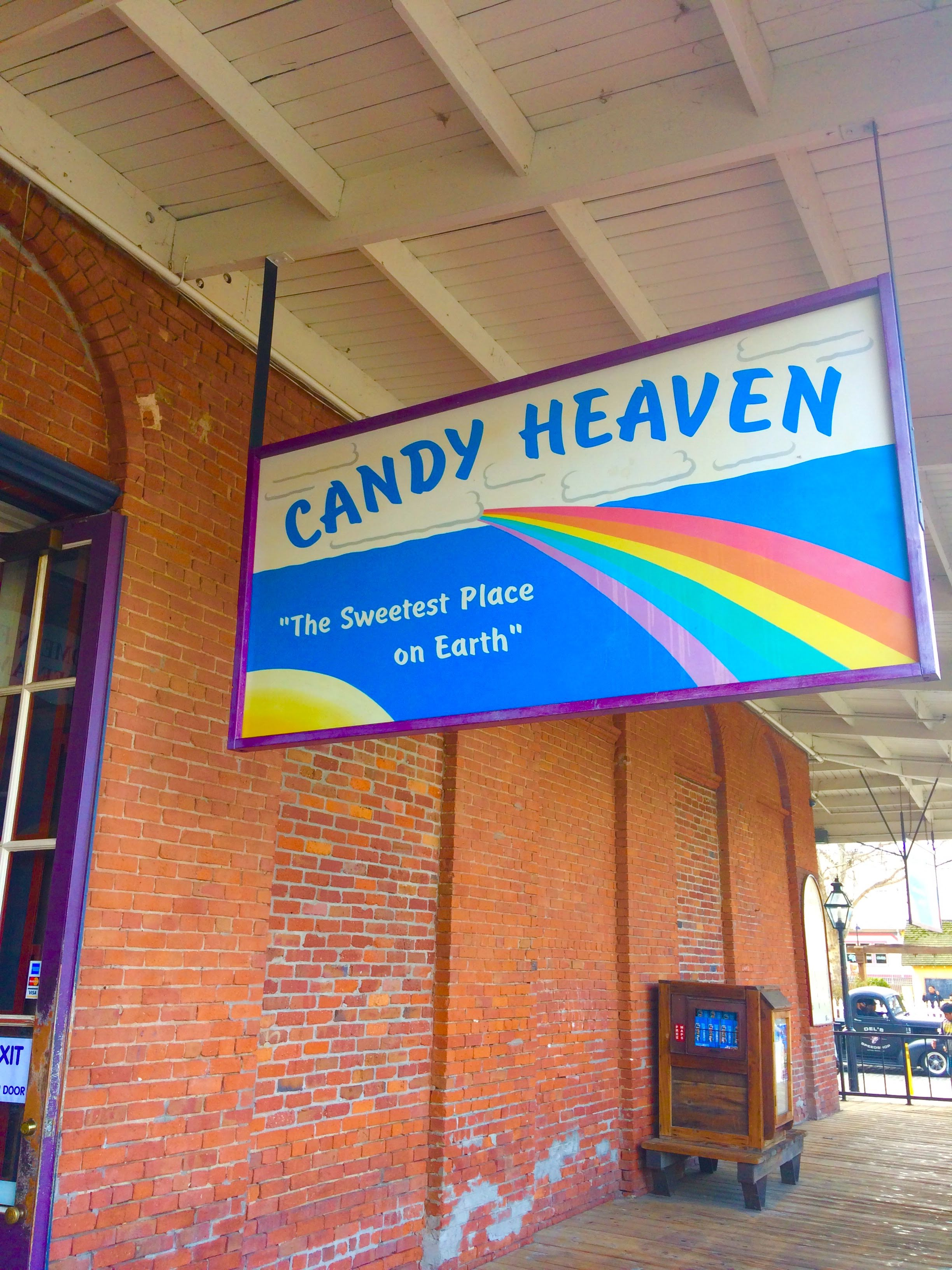 tiny travel chick indoor things to do in sacramento candy heaven