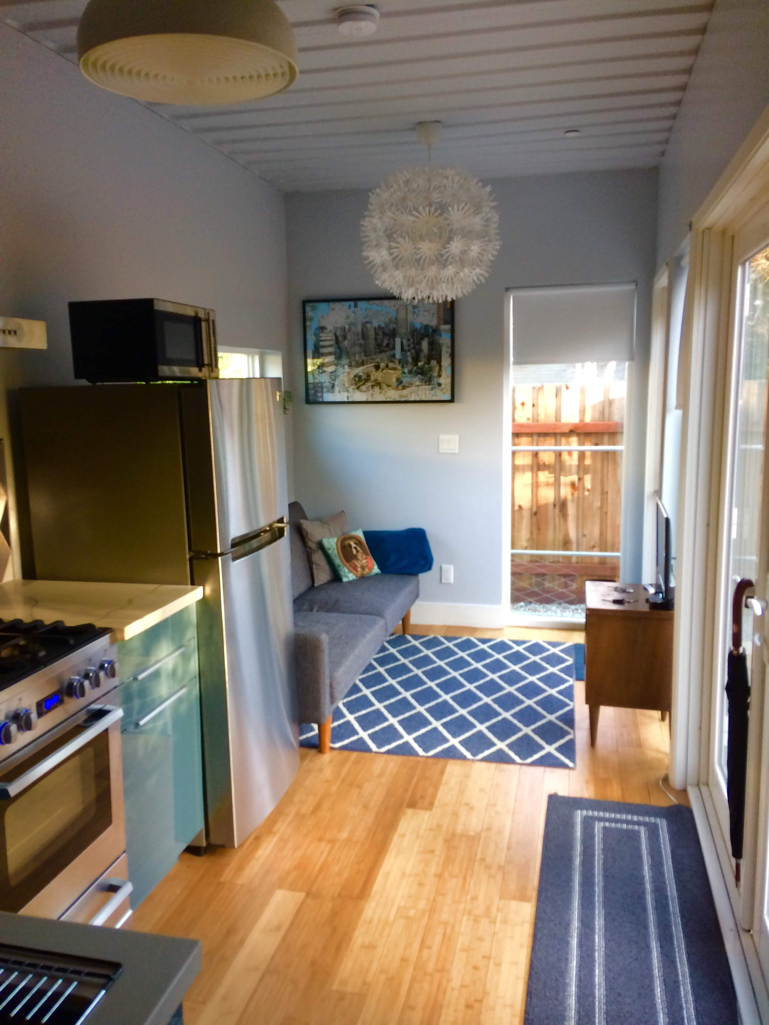 tiny travel chick indoor things to do in sacramento container home living room