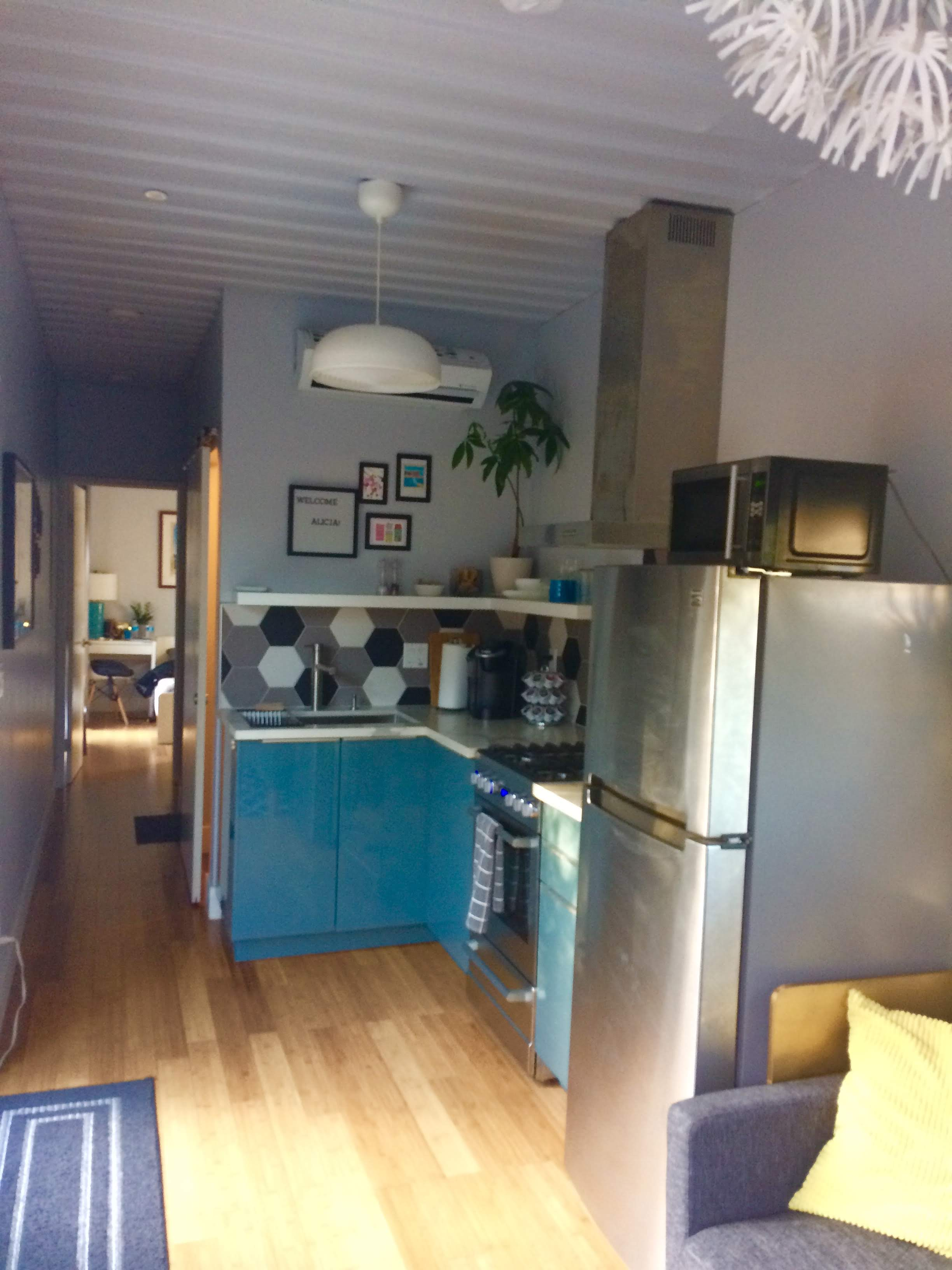 tiny travel chick indoor things to do in sacramento container home kitchen