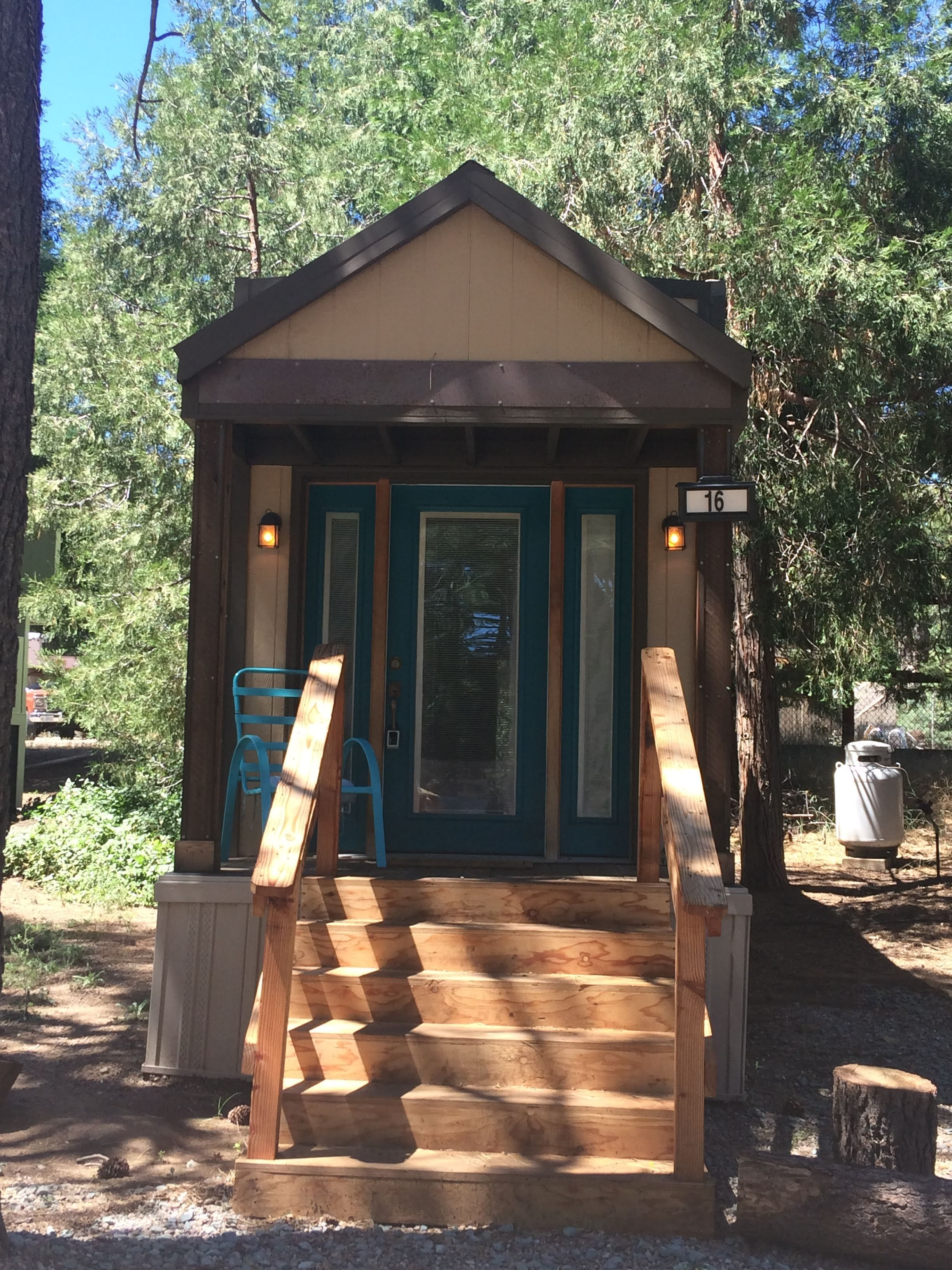 tiny travel chick tiny house block sedona spirit