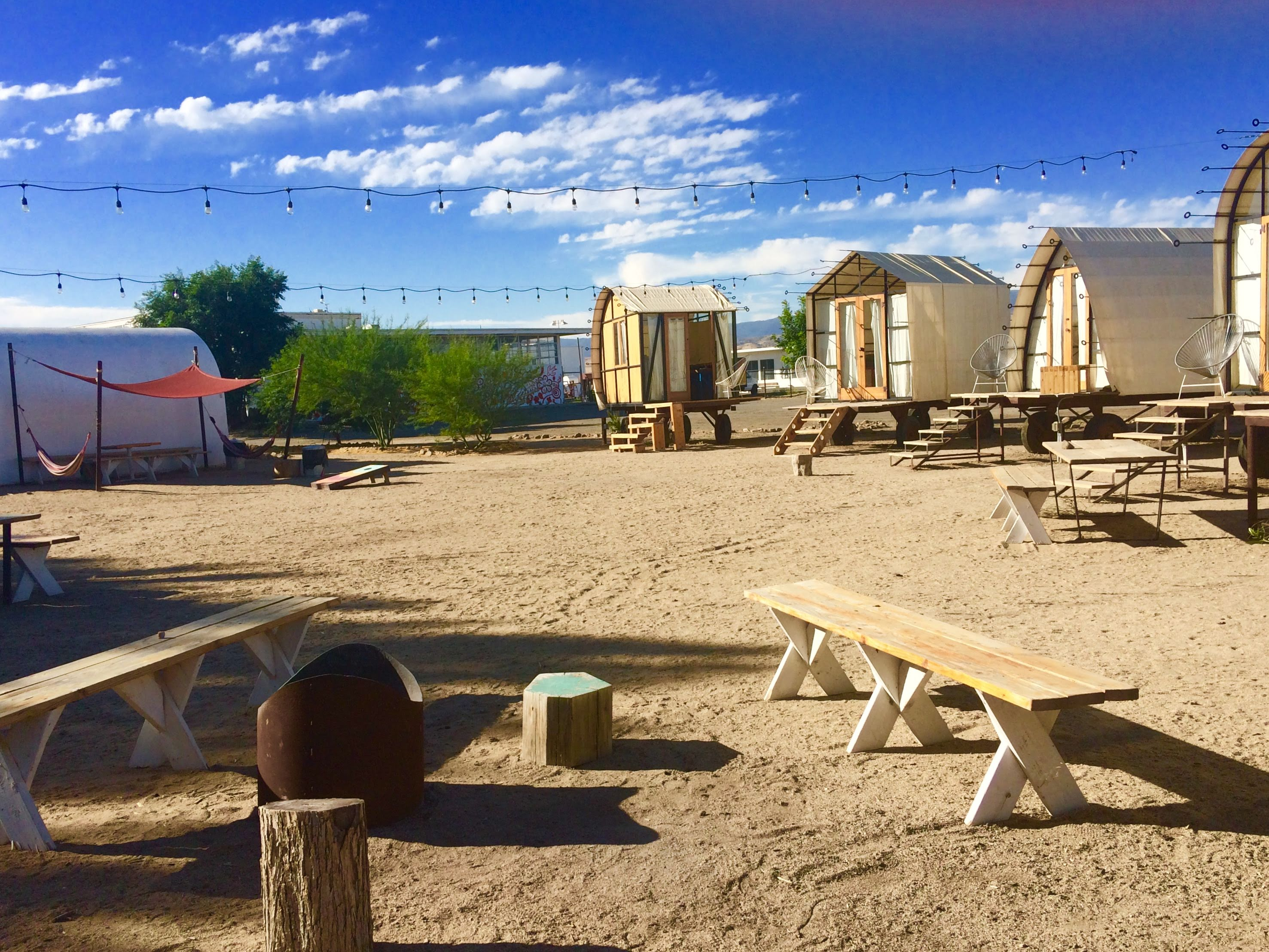 tiny travel chick unique things to do in southern california blue sky center fire pit