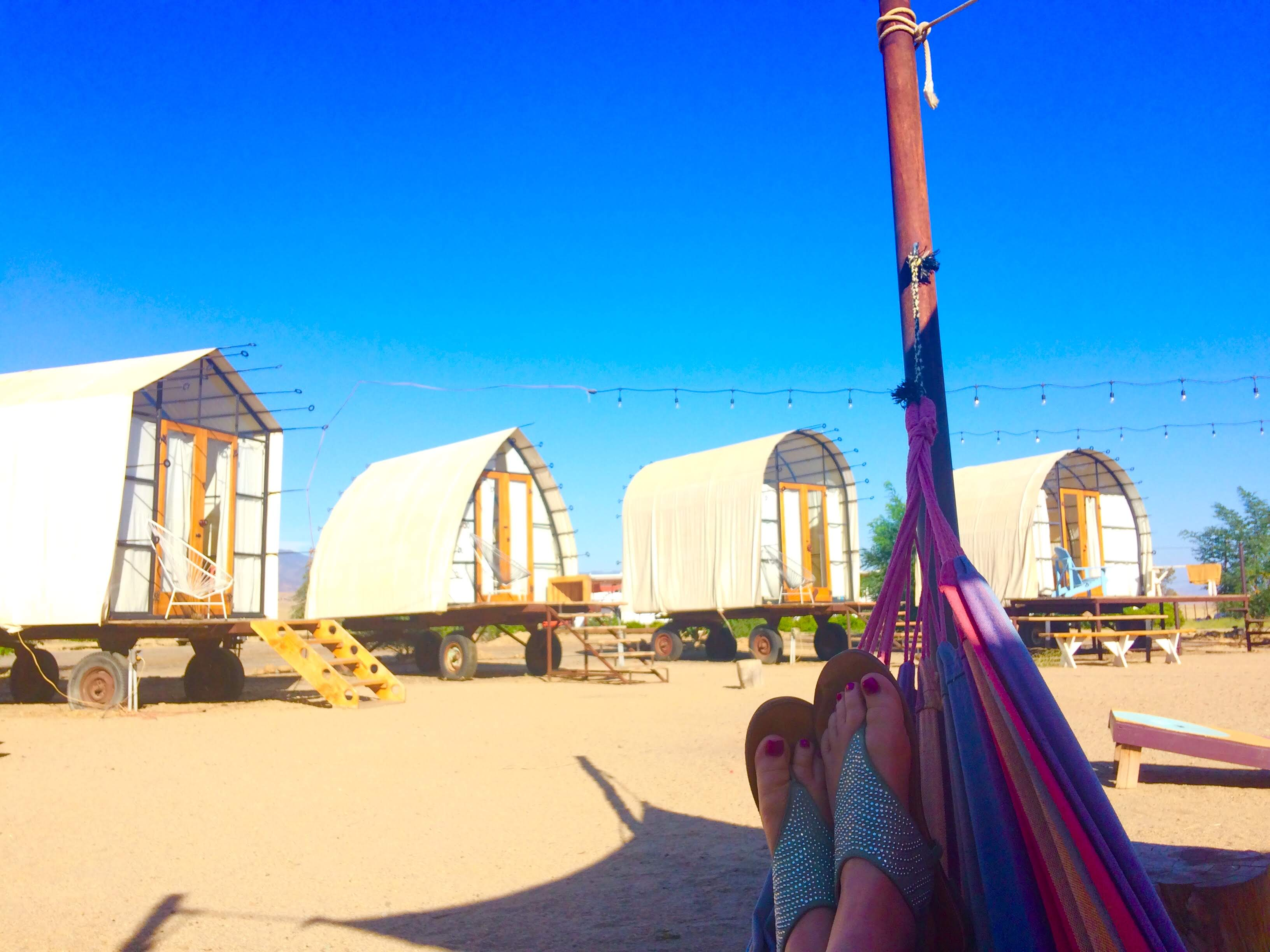 tiny travel chick unique things to do in southern california blue sky center hammock view