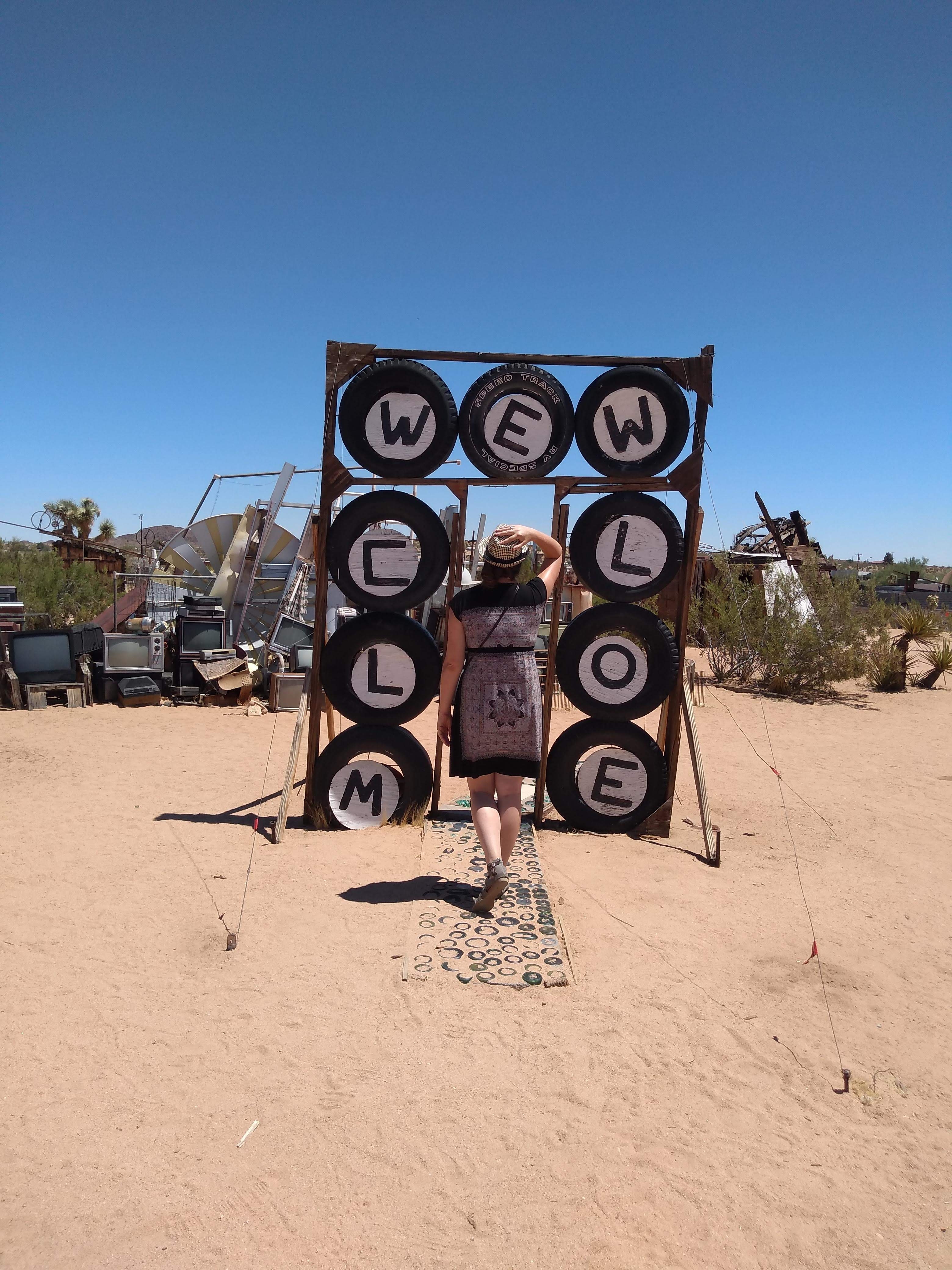 tiny travel chick unique things to do in southern california noah purifoy desert museum