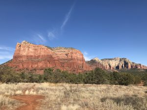 tiny travel chick tiny house sedona courthouse butte trail