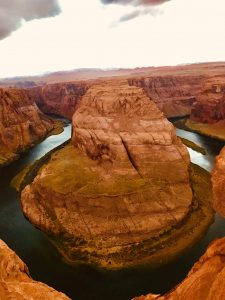 tiny travel chick tiny house sedona horse shoe bend canyon