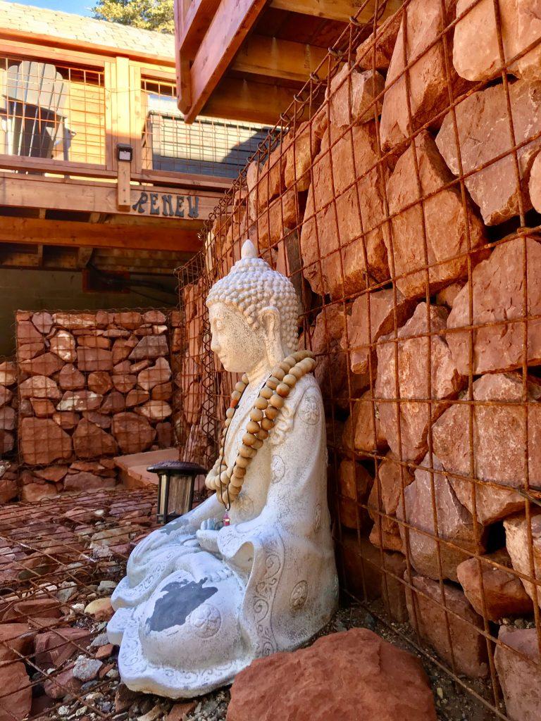 tiny travel chick tiny house sedona tiny camp buddha