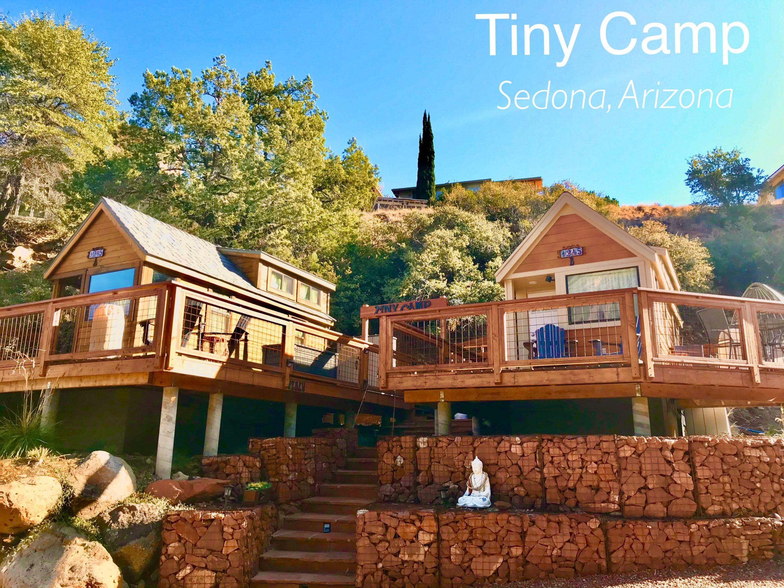 tiny travel chick tiny camp sedona