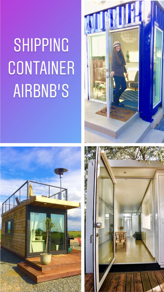 tiny travel chick shipping container builders airbnbs