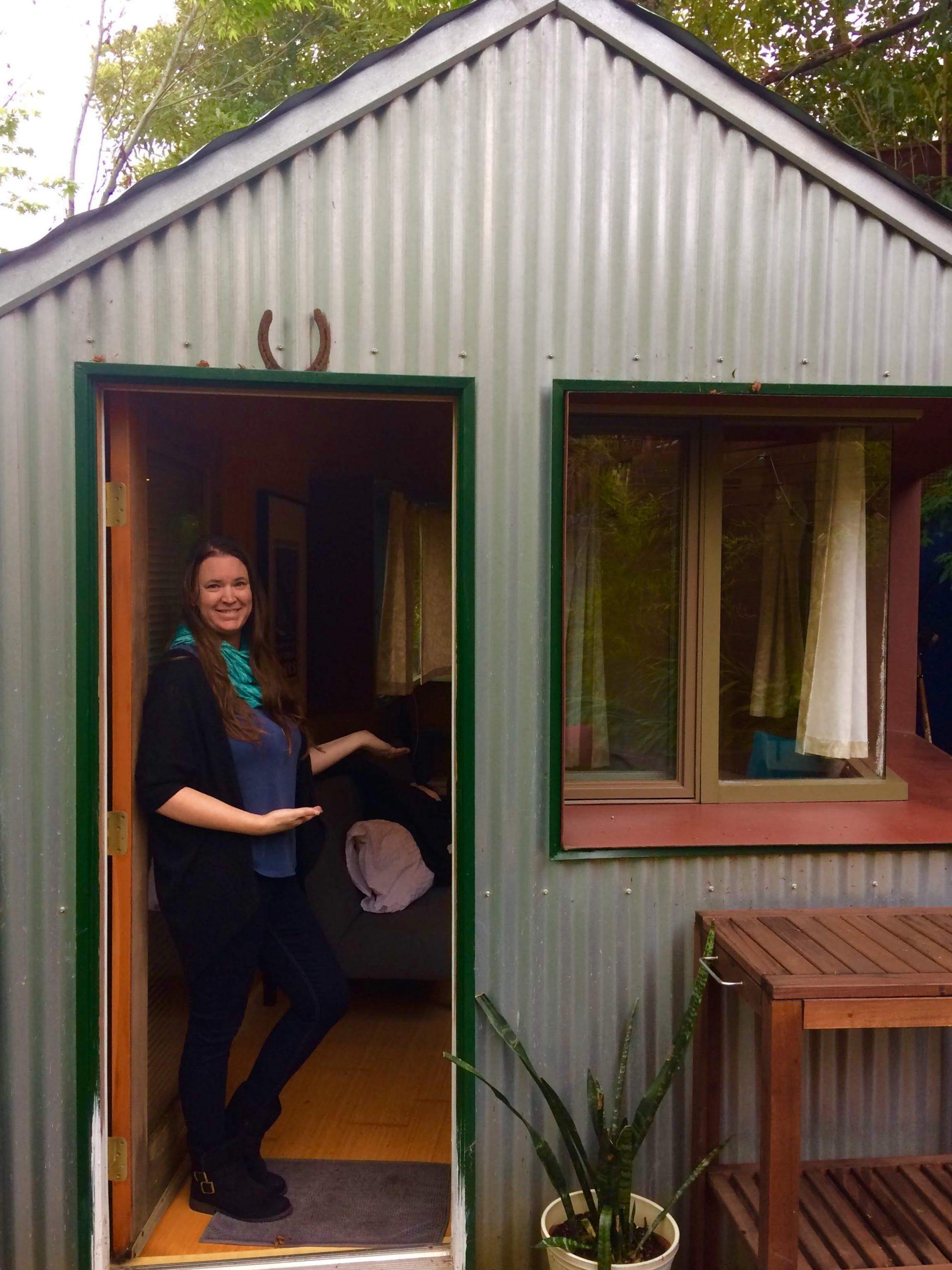 tiny travel chick my first tiny house adventure san rafael
