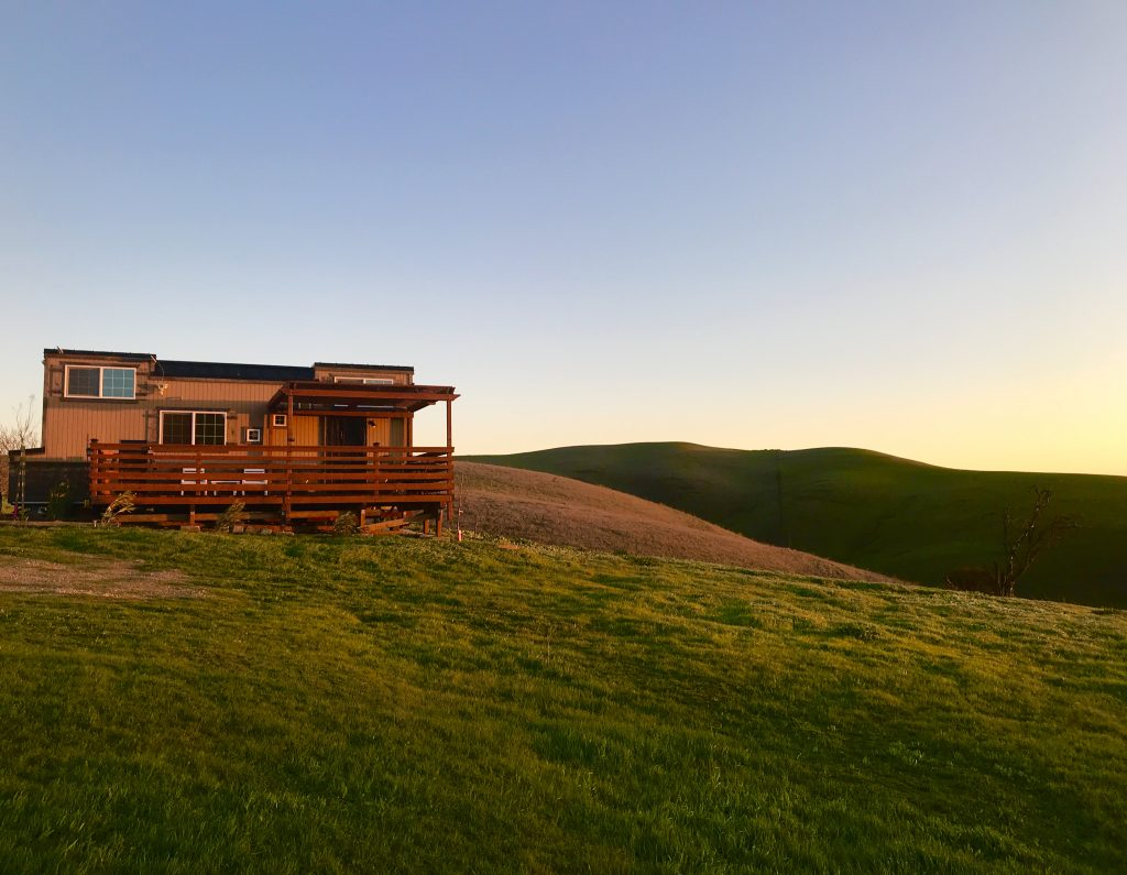 tiny travel chick top ten destinations in califorina livermore ranch house sunset